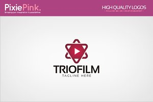 Trio Film Logo Template