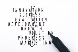 Business Strategy Teamwork Keyword