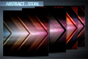 Metal pattern vector backgrounds