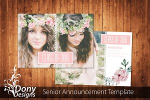 Senior Graduation Card -SE002