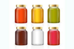 Glass Jars Bottles Empty