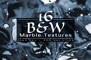 B&W Marble Textures