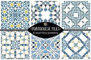 Set 12 - 6 Seamless Patterns