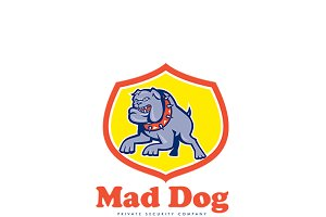 Mad Dog Private Security Agency Logo