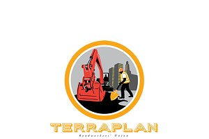 TerraPlan Roadworkers Union Logo
