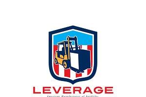 Leverage American Forklifts Logo
