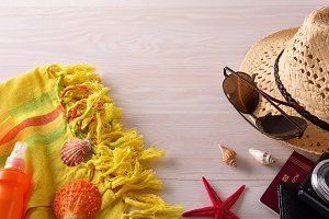 Beach accessories and tourism