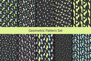 Geometric Abstract Shapes Patterns
