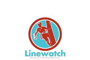 Linewatch Electricians Logo
