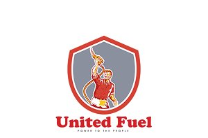 United Fuel Power to the People Logo