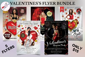 Valentine's Flyer Bundle