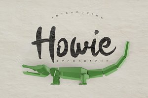 Howie Typeface