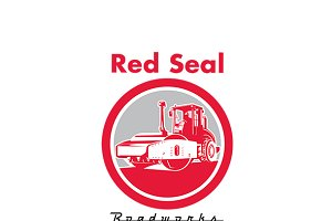 Red Seal Roadworks Logo