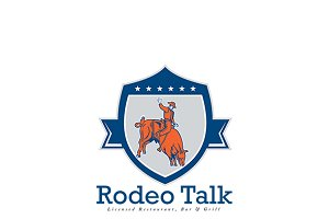 Rodeo Talk Bar and Grill Logo