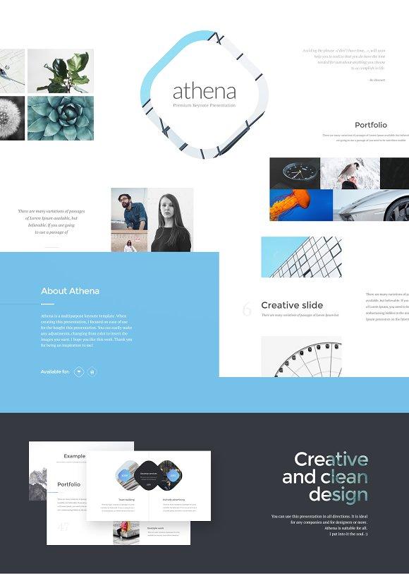 athena powerpoint presentation presentation templates creative