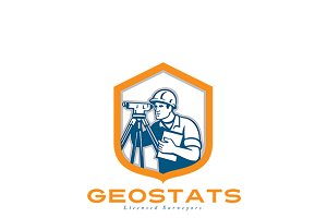 Geostats Licensed Surveyors Logo