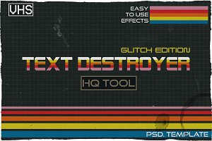 Text Destroyer: Glitch Edition
