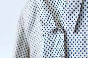 Ladies shirt, polka dot