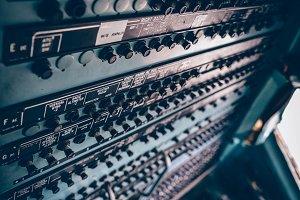 Cockpit Button Panel