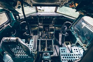 Stripped Cockpit