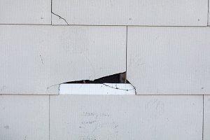 Asbestos materials exposed