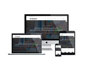 AT Creative Onepage Joomla Template