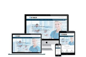 AT Health Onepage Joomla Template
