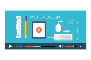 Motion Design Video Play Production