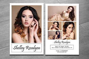 Modeling Comp Card Template-V281