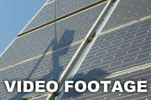 Solar battery panels
