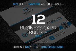 12 Business Card Mini Bundle v3