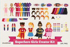 Superhero Girls Creator Kit