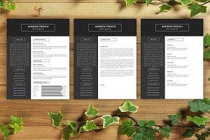 Resume Template | CV Template -V020