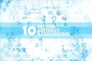 Digital code background