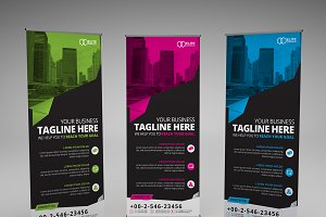 Corporate Roll-up Banner Template