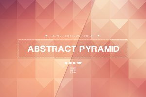 16 Abstract Pyramid Backgrounds