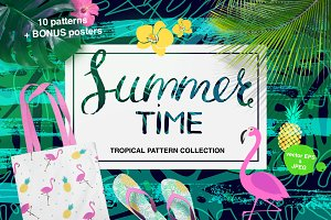 Summertime: set of tropical patterns