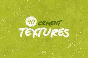 40 Cement Textures