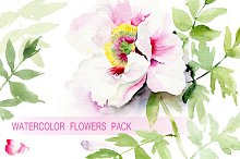 Watercolor Floral Pack