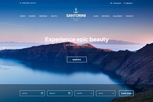 Santorini Resort - Hotel theme