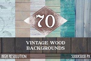 70 Vintage Wood Textures