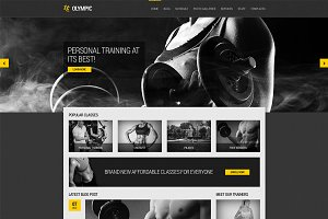 Olympic - Fitness & Health theme
