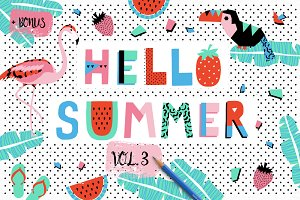 Hello Summer bundle VOL3