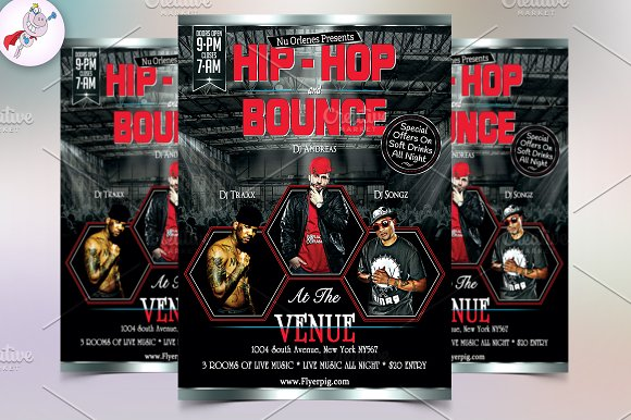 Hip-Hop Flyer