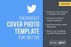 Twitter Cover Image Template