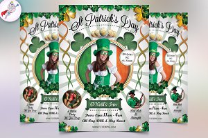 St. Patrick's Day Flyer v3