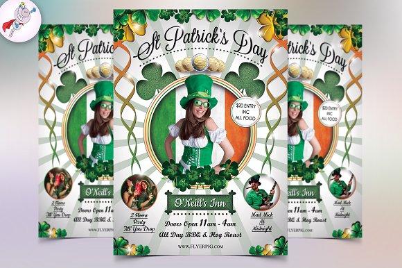 St. Patrick's Day Party Flyer - Flyers