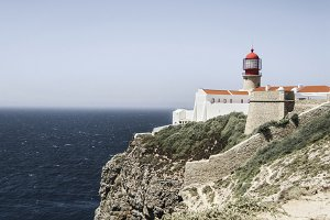 Lighthouse Cape St. Vicent Portugal