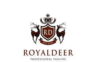 Royal Deer Logo