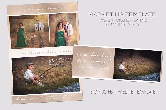 Photography Marketing Template